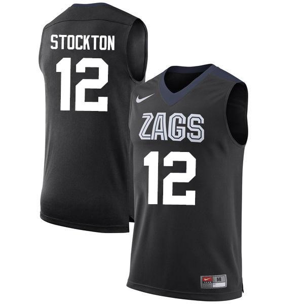 huge selection of 8f670 e3035 John Stockton Jerseys Gonzaga Bulldogs College Basketball ...